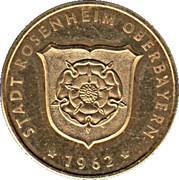 Token - Rosenheim (Mittertor) – reverse