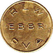 Token - Brussels International Airport – obverse