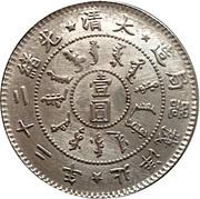 Chihli Kuang-hsü Dollar (Replica) – reverse