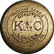 Token - K & C LTD Indoor Games (London) – obverse