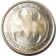 Token - Batman (Defender of Gotham City) – reverse