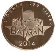 Token - Batman (1 oz) – obverse