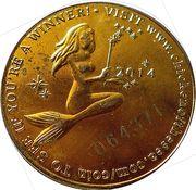 Commemorative coin - Chicken of sea – obverse