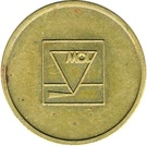 Car Wash Token - MOL – obverse