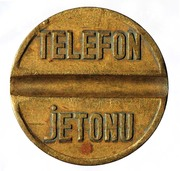 Telephone Token - PTT (small - urban calls) – reverse