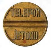 Telephone Token - PTT (small - urban calls) – reverse