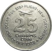 25 Charms - Charles Lindbergh – reverse