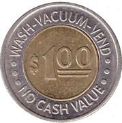 1 Dollar - Turbo Wash (Ft Madison, Ia) – reverse