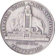 Token - Nebraska Numismatic Association (8th Convention) – obverse