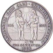 Token - Nebraska Numismatic Association (8th Convention) – reverse