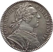 Token - Louis XV (Des Etats de Bretagne) – obverse