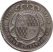 Token - Louis XV (Des Etats de Bretagne) – reverse