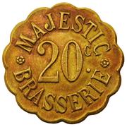 20 Centimes - Brasserie Majestic (Nancy) – obverse