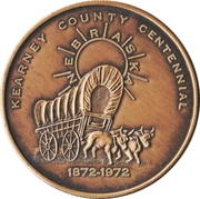 Token - Centennial Kearney County, Nebraska – obverse