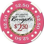 2.50 Dollars - Borgata (Atlantic City) – reverse