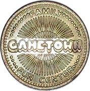 Token - Gametown Family Fun Center – obverse