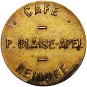 Token - Café Blaise-Apel (Luxembourg) – obverse
