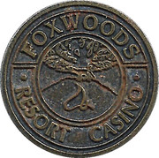 Token - Foxwoods Resort Casino – obverse