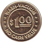 1 Dollar - Splash & Shine (Youngstown, Ohio) – reverse