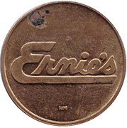 2 Dollars - Ernie's (Worcester, Massachusetts) – obverse