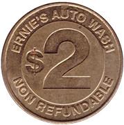 2 Dollars - Ernie's (Worcester, Massachusetts) – reverse