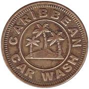 Carwash Token -  Caribbean Car Wash (Largo, Florida) – obverse