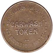 Carwash Token -  Caribbean Car Wash (Largo, Florida) – reverse
