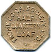½ Quartern Loaf -Frome CSL (Somerset) – obverse