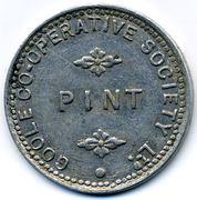 1 Pint - Goole CSL (Yorkshire) – reverse