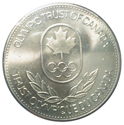 Token - Olympic Trust of Canada (Boxing) – reverse