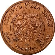 Token - Chimpy's Pizza Safari (Libertyville, Illinois) – obverse