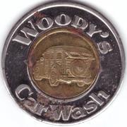 1 Dollar - Woody's Car Wash (Totem Lake, Washington) – obverse
