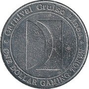 1 Dollar Gaming Token - Carnival Cruise Lines (The