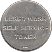 Car Wash Token - King of The Road – reverse
