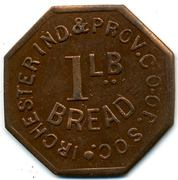 1 Lb Bread - Irchester Ind & Prov CS (Northamptonshire) – reverse