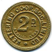 2 Pence - Kettering CSL (Northamptonshire) – reverse