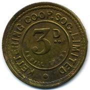 3 Pence - Kettering CSL (Northamptonshire) – obverse