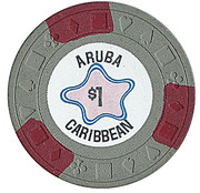 1 Dollar - Aruba Caribbean – reverse