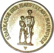 Token - Sparkasse Weltspartag 1967 (Hannover) – obverse
