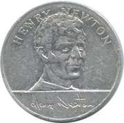 Esso Token - 1970 England World Cup Squad (Henry Newton) – obverse