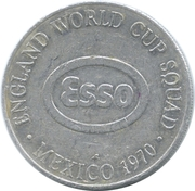 Esso Token - 1970 England World Cup Squad (Henry Newton) – reverse