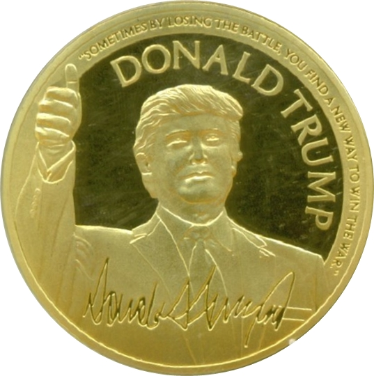 Battle Medallion Donald Trump Tokens Numista