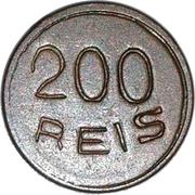200 Reis – obverse