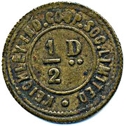 ½ Penny - Keighley Ind CSL (Yorkshire) – obverse