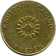 Token - Knutsson Casino – obverse