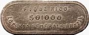 Token - Loteria Federal do Brazil (50$000) – obverse