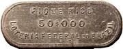 Token - Loteria Federal do Brazil (50$000) – reverse