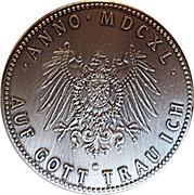 Token - Friedrich Wilhelm I – reverse