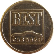 Car Wash Token - Best Carwash – obverse