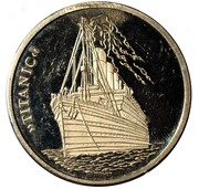 Titanic and old mariner – obverse